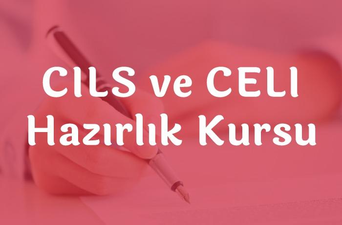 CILS ve CELI Hazırlık Kursu