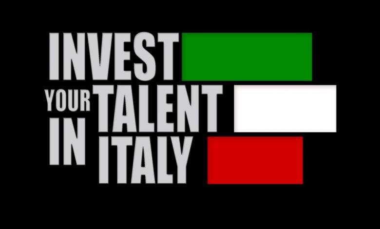 Invest Your Talent in Italy Bursu