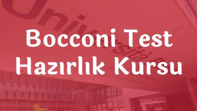 Bocconi Test Hazırlık Kursu