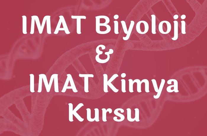 IMAT-Biyoloji-&-IMAT-Kimya-Kursu