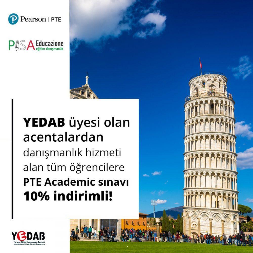 PTE Academic Pisa Edu